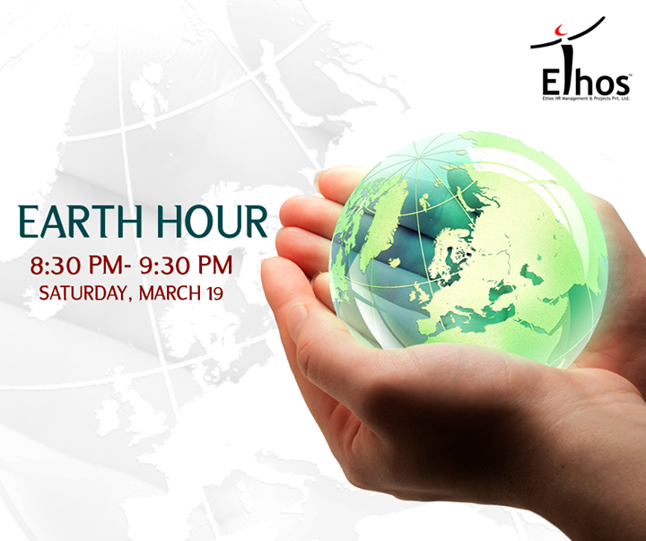 Ethos India,  EarthHour,, SwitchOff, EarthHour2016