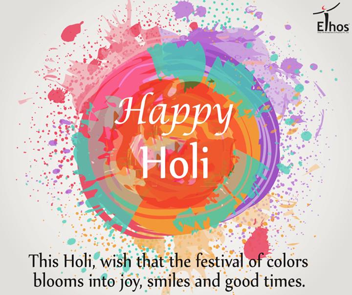 Enjoy the Spirit of the Colorful Festival!  #HappyHoli #SafeHoli #EthosIndia #Ahmedabad