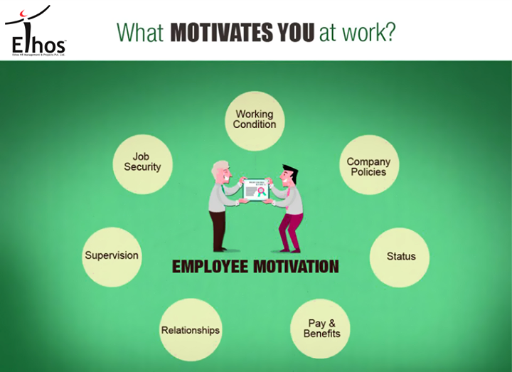 What is your biggest motivation at work?  #Motivation #Work #EthosIndia #Ahmedabad