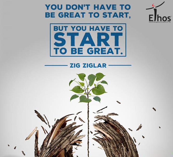 The most important step of all is the first step. Start Something!  #StartSomething #MondayMotivation #WiseWords #EthosIndia #Ahmedabad