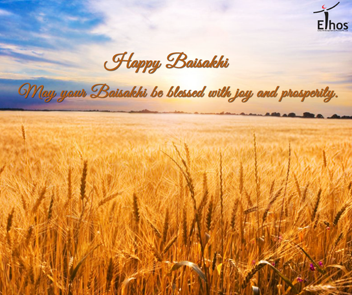 Hope the harvest season brings endless joys and happy moments!  #HappyBaisakhi #FestiveWishes #HarvestFestival #EthosIndia