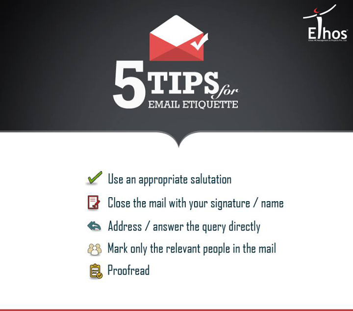 Use these while writing Professional Emails!  #EmailTips #EthosIndia #Ahmedabad