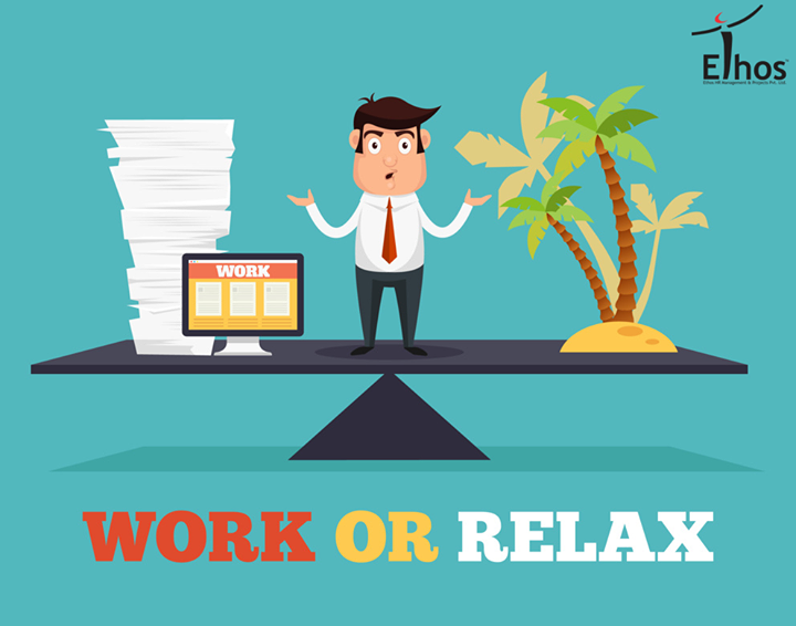 Stress causes illness: There not an optimal work-life balance that causes sleep disturbances & various health issues. Find you self-enough time to relax your body & mind which not only increases efficiency but also keeps you mentally  physically healthy!  #WorklifeBalance #StressManagement #EthosIndia #Ahmedabad