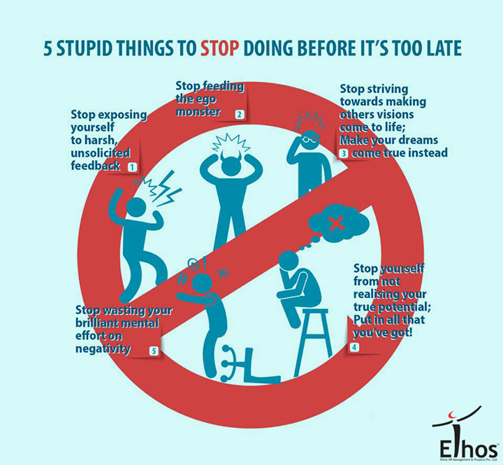 Here's something you should stop before it's too late!  #EthosIndia #Ahmedabad