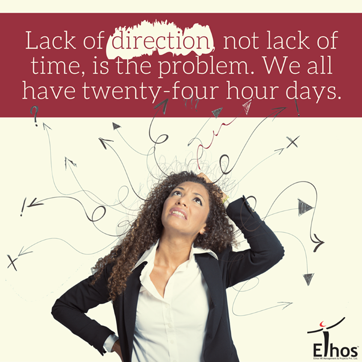 More important than the quest for certainty is the quest for clarity!  #TimeManagement #EthosIndia #Ahmedabad