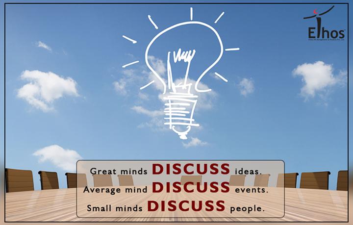 Ethos India,  GreatMinds, MotivationalMonday, WiseWords, EthosIndia, Ahmedabad