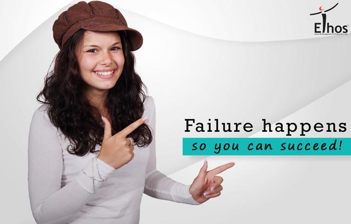 Failure is the success in progress. Keep on trying!  #EthosIndia #Ahmedabad