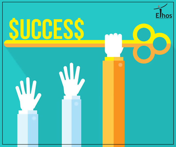 The key to success is in your own hands!  #Success #EthosIndia #Ahmedabad