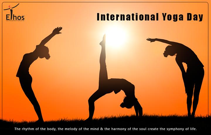 Ethos India,  InternationalYogaDay, YogaDay, EthosIndia