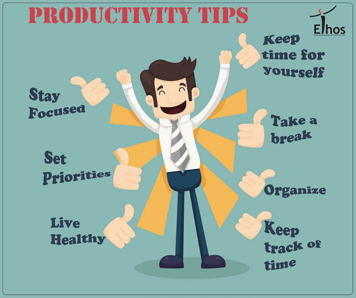 Here are some ways to increase your productivity!  #EthosIndia #Ahmedabad