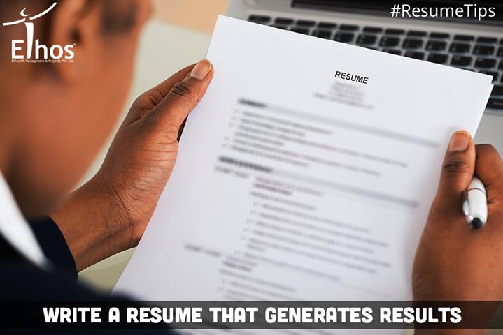 Ethos India,  ResumeTips, RecruitmentinAhmedabad, Jobsforyou, EthosIndia