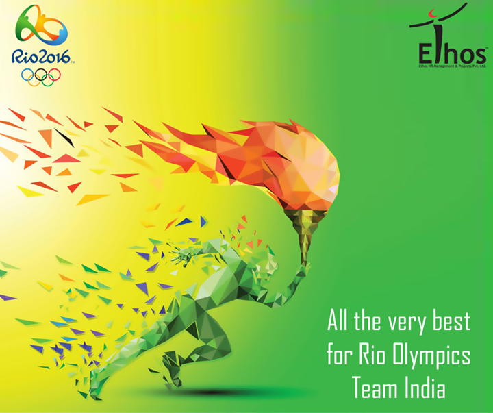 Wishing All the very best to the #IndianTeam Participating in #RIOOlympics.