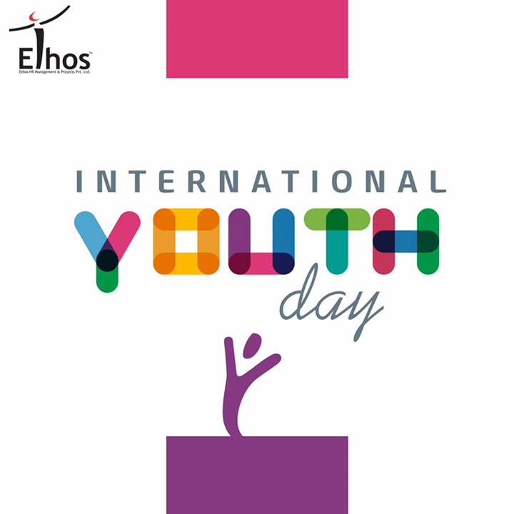 Let's keep the spirit high of the future of our nation.  #InternationalYouthDay #YouthDay #EthosIndia