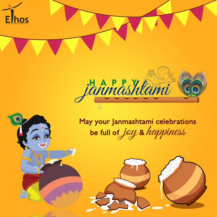 Warm wishes on the joyous festival of #Janmasthami from Ethos India !