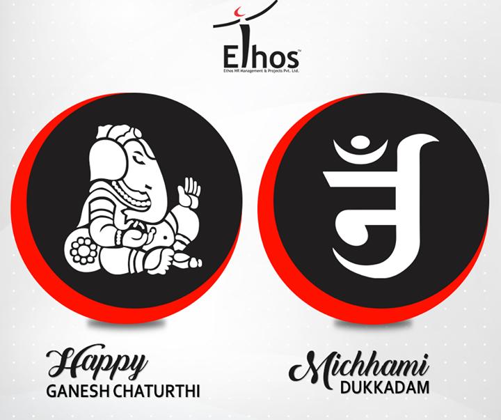 #Festive wishes to all from Ethos India.  #MichhamiDukkadam #HappyGaneshChaturthi #EthosIndia