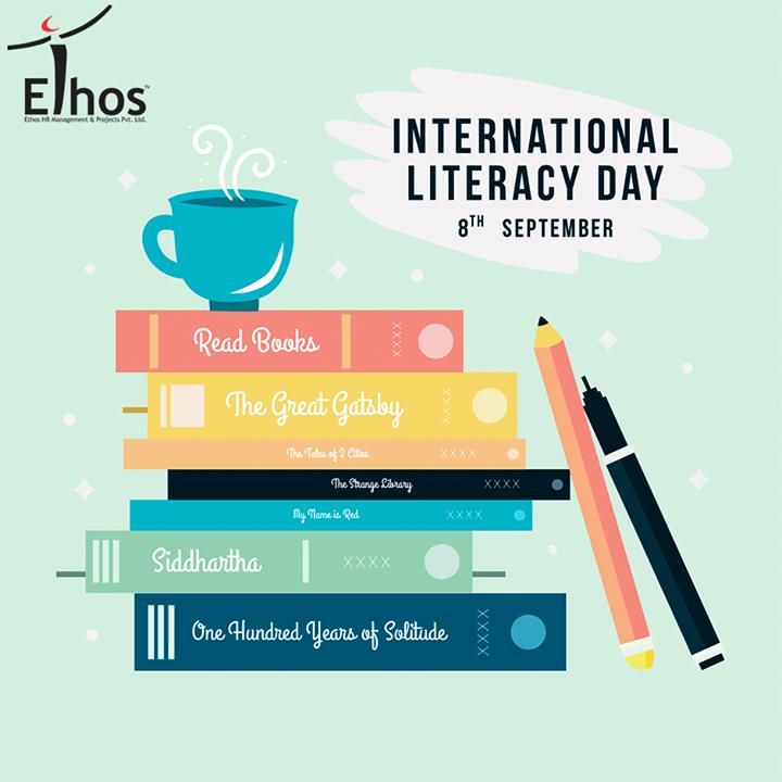 Literacy is a responsibility that society owes to itself.  #InternationalLiteracyDay #EthosIndia #Ahmedabad