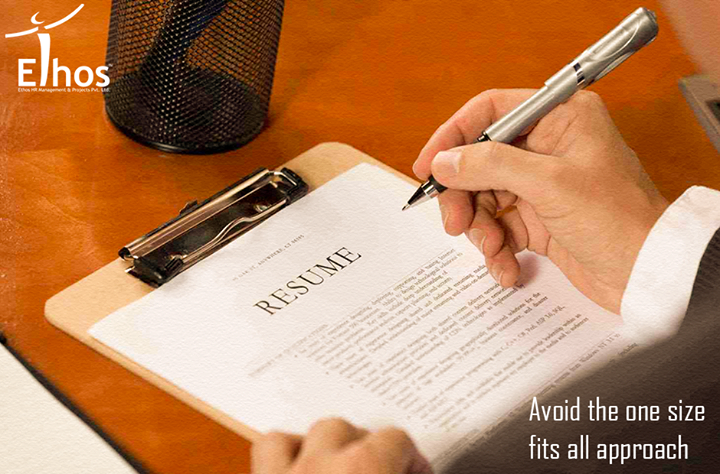 Your resume should be tailored to the position. This includes updating your resume frequently to include your most recent accomplishments.   #ResumeTip #EthosIndia #Ahmedabad