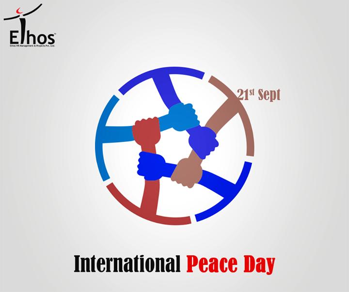 Ethos India,  InternationalPeaceDay, InternationalDayOfPeace, Peace, EthosIndia, Ahmedabad