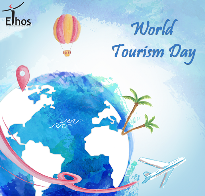 Travel the world and bring life to all your dreams on the occasion of #WorldTourismDay.  #TourismDay #Travel #EthosIndia #Ahmedabad