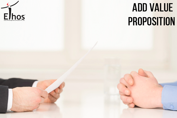Your value proposition is the most persuasive reason why the employer should interview you and it for sure gives an extra edge to you over others   #ResumeTips #EthosIndia #Ahmedabad