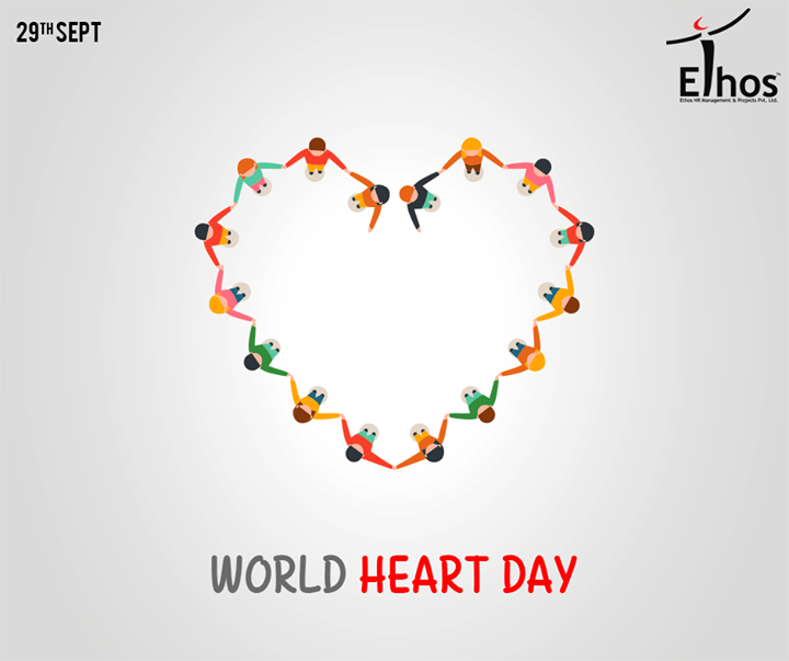 Wishing you all a very healthy and happy #WorldHeartDay from Ethos India.  #WorldHeartDay2016 #HeartDay #EthosIndia #Ahmedabad