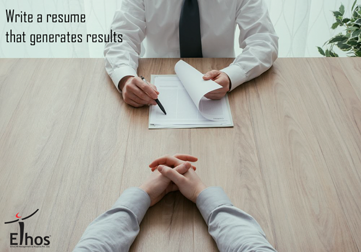 Prepare a perfect resume in order to establish you as a professional person with high standards and excellent writing skills.   #ResumeTips #EthosIndia #Ahmedabad