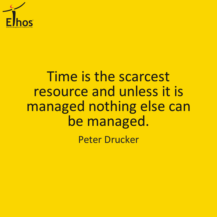 Time it Tactfully.  #TimeManagement #EthosIndia #Ahmedabad