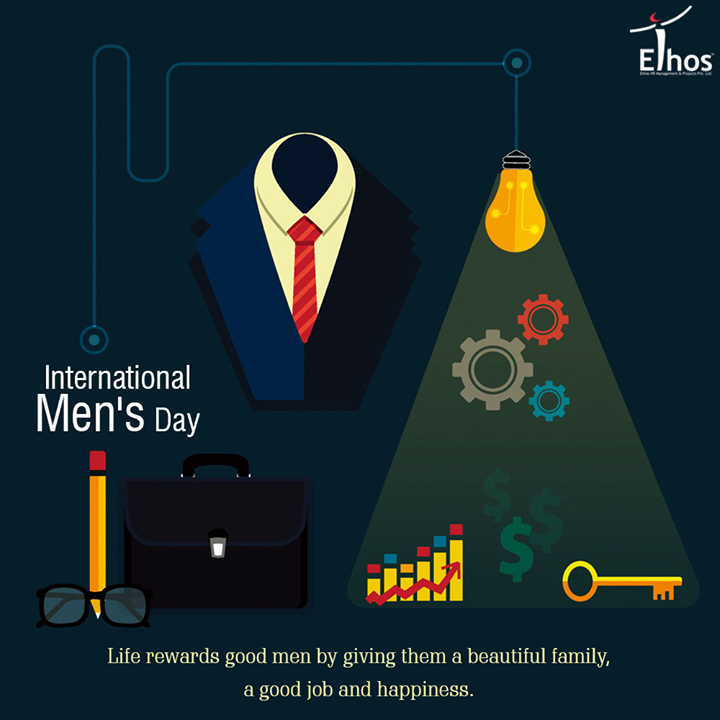 Let's celebrate the presence of all the superhero's we have in our life.  #InternationalMensDay #EthosIndia #Ahmedabad