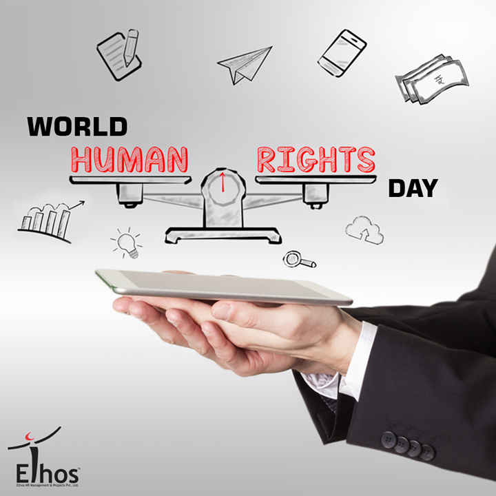 It's time for each of us to step up for human rights.  #WorldHumanRightsDay #EthosIndia #Ahmedabad