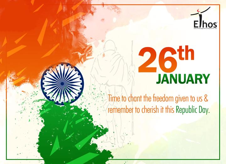 #RepublicDay wishes from Ethos India !  #HappyRepublicDay #EthosIndia #Ahmedabad #EthosHR #Recruitment