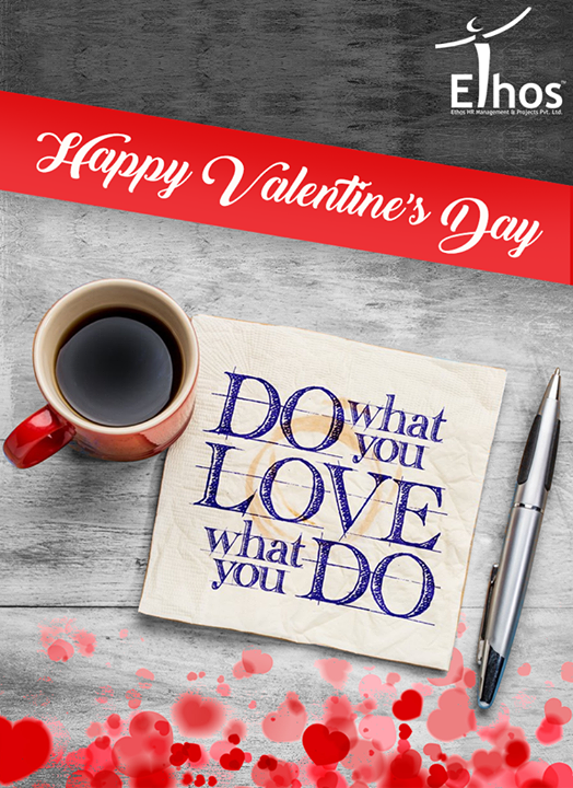 Wishing you all a Happy Valentine's day.  #HappyValentinesDay #ValentinesDay #EthosIndia #Ahmedabad #EthosHR #Recruitment