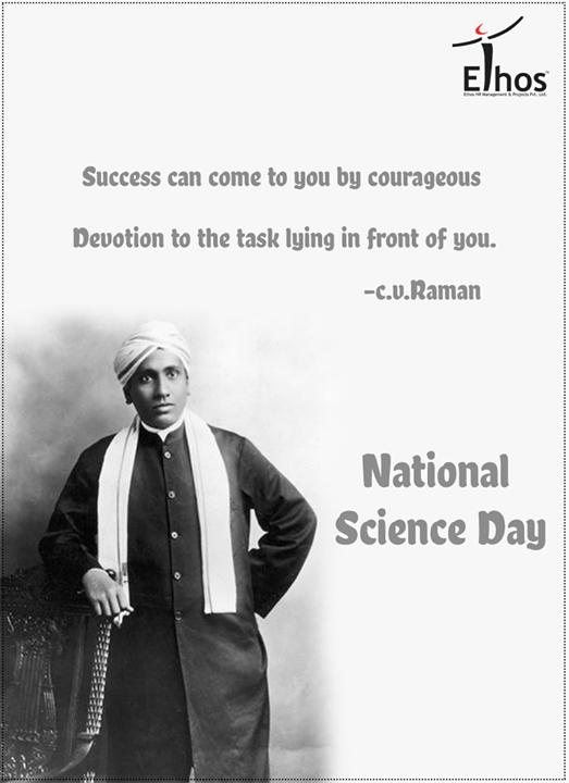 Ethos India,  NationalScienceDay, Ramaneffect