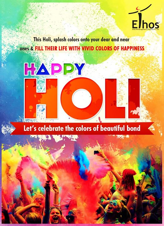 Let's celebrate the colors of a beautiful bond.  #HappyHoli #HoliHai #Holi2017 #ColorsOfHoli #IndianFestival #HoliCelebrations #EthosIndia #Ahmedabad #EthosHR #Recruitment