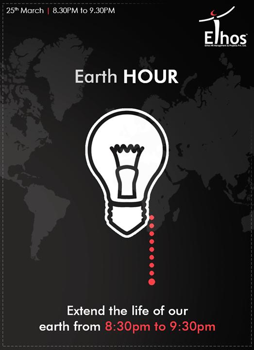 Ethos India,  EarthHour, EarthHour2017, EthosIndia, Ahmedabad