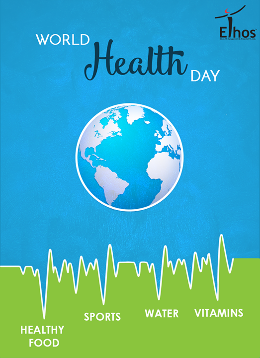 :: A healthy outside starts from the inside. ::  #WorldHealthDay #HealthDay #EthosIndia #Ahmedabad #EthosHR #Recruitment