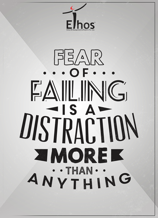 Don't let your fear take over your dreams.  #Business #EthosIndia #Ahmedabad #EthosHR #Recruitment
