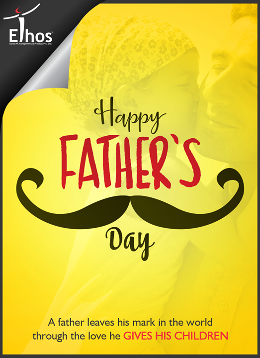 Here's wishing all the wonderful dad's a very #HappyFathersDay!  #FathersDay #Fathers #EthosIndia #Ahmedabad #EthosHR #Recruitment