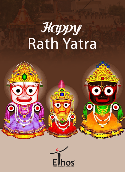May this festival bring bright beginnings to you!   #RathYatra #Rathyatra2017 #IndianFestivals #Business #EthosIndia #Ahmedabad #EthosHR #Recruitment
