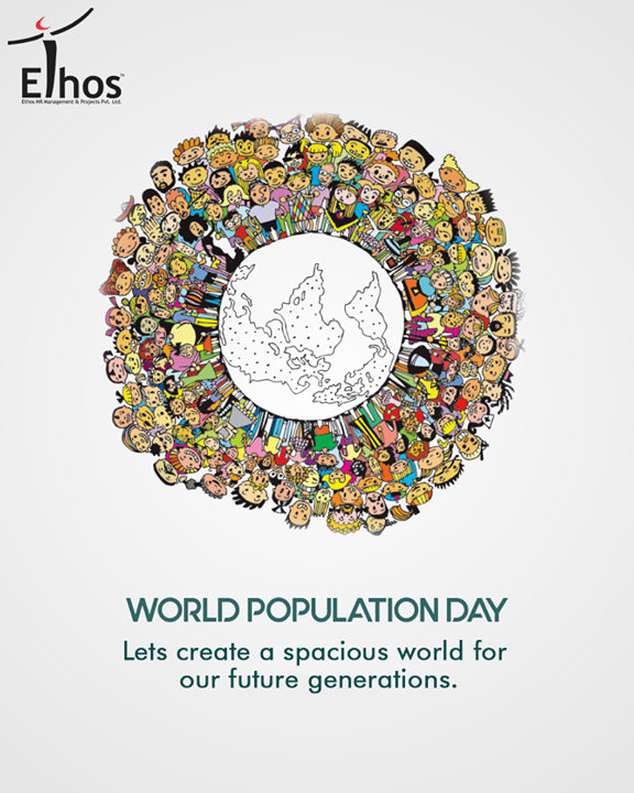 Lets stand together to support and spread the word to people about the growing population issues on this #WorldPopulationDay  #PopulationDay #EthosIndia #Ahmedabad #EthosHR #Recruitment #Jobs