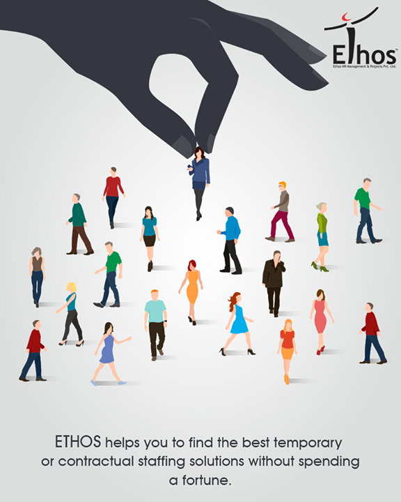Ethos India helps you to find the best temporary or contractual staffing solutions without spending a fortune. We understand contingent work needs of companies, and that people with certain skill sets may not always fit the company's payroll.  #EthosIndia #Ahmedabad #EthosHR #Recruitment #Jobs