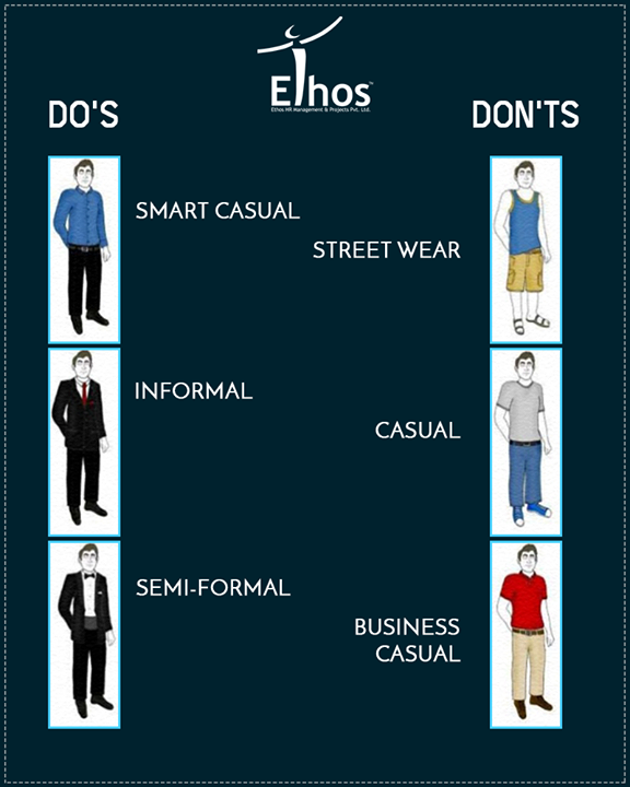 :: Job interview tips ::  Do's and Don'ts of Interview attire  #EthosIndia #Ahmedabad #EthosHR #Recruitment #Jobs