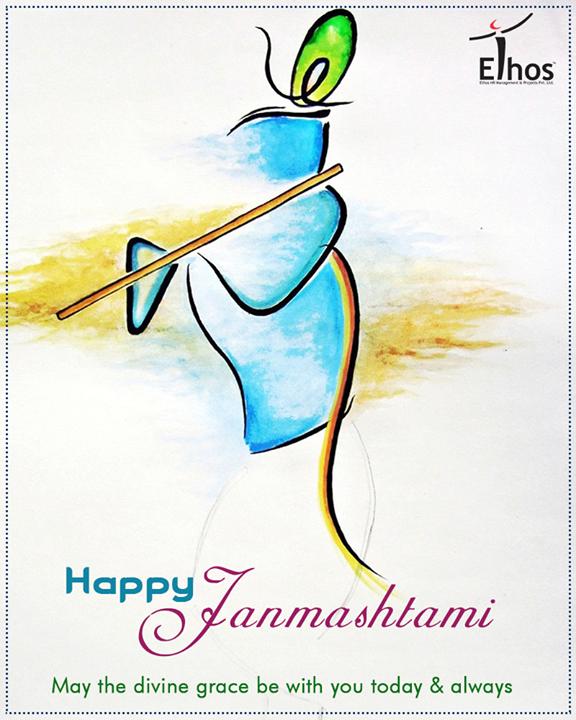 Warm wishes on the festive occasion of #Janmasthami!  #Janmashtami2017 #IndianFestivals #JanmashtamiCelebrations #Ahmedabad #EthosHR #Recruitment #Jobs