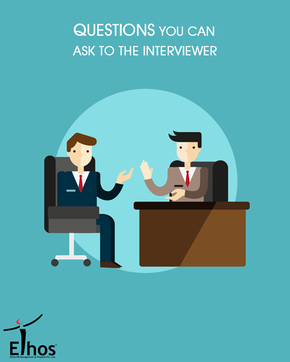 Learn more about the company & make a better impression on the interviewer.  1. How would you describe the company's culture? 2. What are the biggest challenges of this position? 3. What's the typical day-to-day like in this role? 4. What does the ideal candidate look like for this position?  #InterviewTips #EthosIndia #Ahmedabad #EthosHR #Recruitment #Jobs