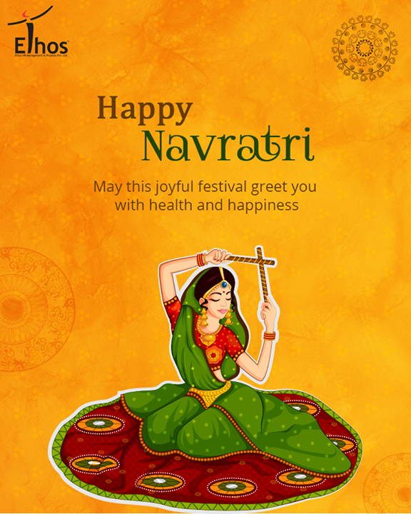 May the nine nights of Navratri bring grace, joy and fun  #HappyNavratri #Navratri #EthosIndia #Ahmedabad #EthosHR #Recruitment #Jobs