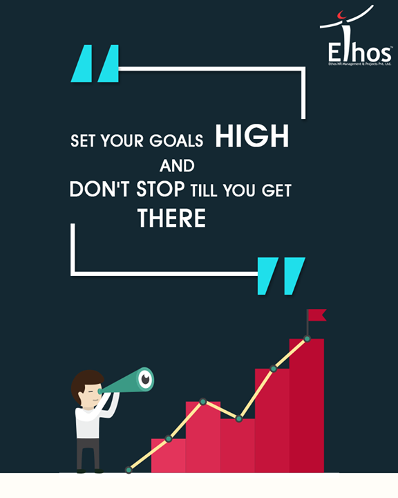 Set your goals right and own the week ahead!   #EthosIndia #Ahmedabad #EthosHR #Recruitment #Jobs