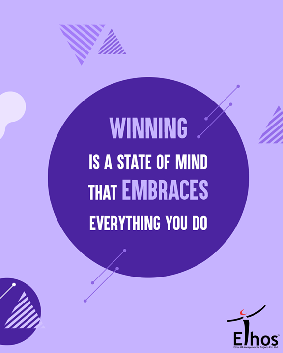A winner is a loser who never gives up  #EthosIndia #Ahmedabad #EthosHR #Recruitment #Jobs #Change