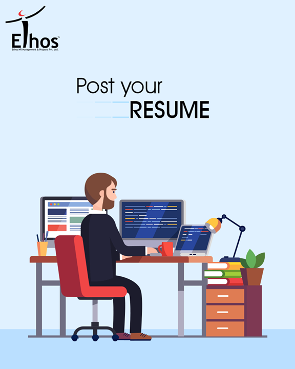 The entire team of ethos is working on an uncompromising attitude and they all believe in one thing You are Never a Loser, Until you Quit Trying!!  Click here for submitting your CV: http://ethosindia.com/      #EthosIndia #Ahmedabad #EthosHR #Recruitment #Jobs #Change