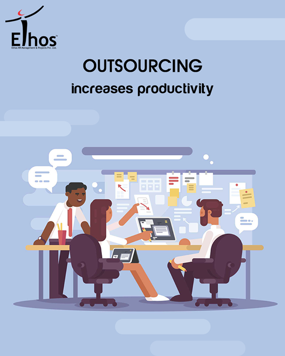 It allows you and your employees to focus on what you do best and contract with outside sources for items/services that they are better positioned to create/provide.  #EthosIndia #Ahmedabad #EthosHR #Recruitment #Jobs #Change