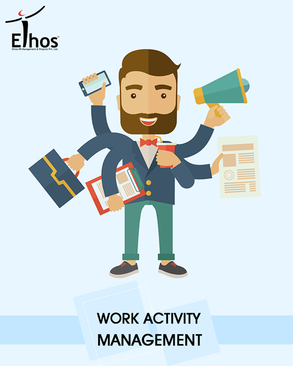 Work activity management (WAM) is the process of creating, delegating and tracking the progress of multiple tasks to completion.  #EthosIndia #Ahmedabad #EthosHR #Recruitment #Jobs #Change