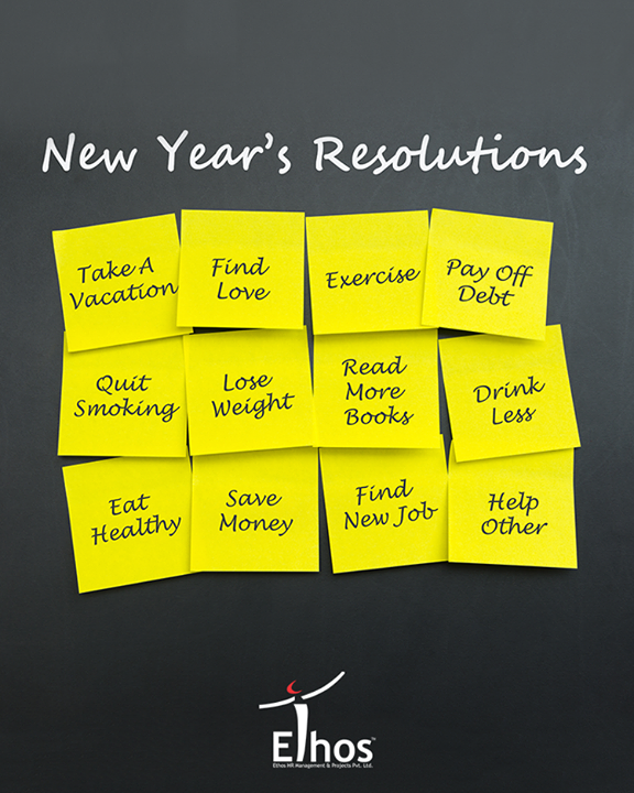 What's your New Year Resolution for 2018? Tell us in the comments below.   #NewYearResolutions #ByeBye2017 #NewYear2018 #NewYear #EthosIndia #Ahmedabad #EthosHR #Recruitment